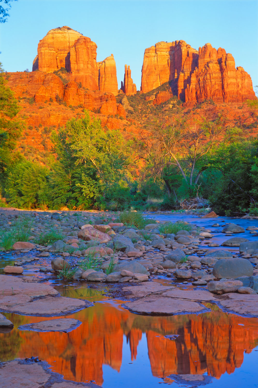 Cathedral Rocks, Red Rock Crossing , Red Rock State Park, Sedona, Arizona