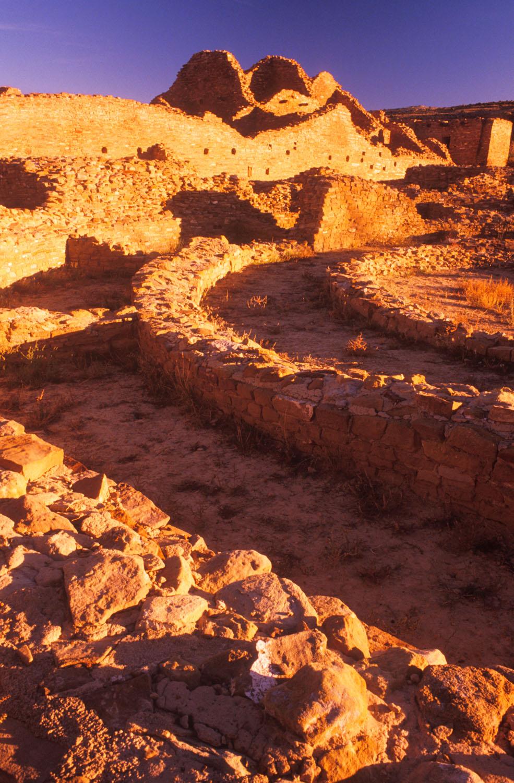 Pueblo Del Arroyo Ruins, Chaco Canyon National Historic Park