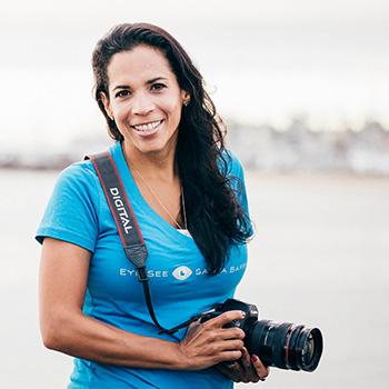 EyeSeeSantaBarbara photography instructor Andreina Diaz