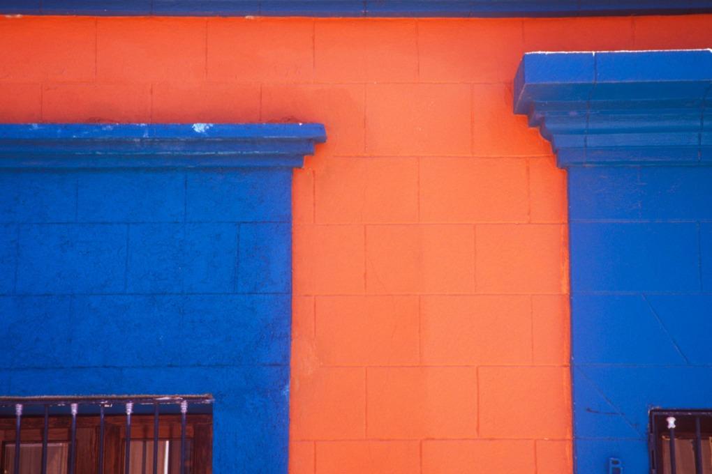 colorful windows details
