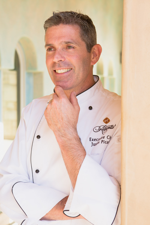 portrait of chef in window light