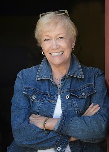 Portrait of visual arts instructor Joyce Wilson