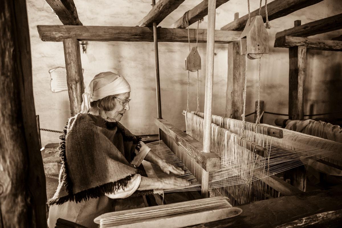 weaver, La Purisima Mission State Historic Park, Lompoc, California