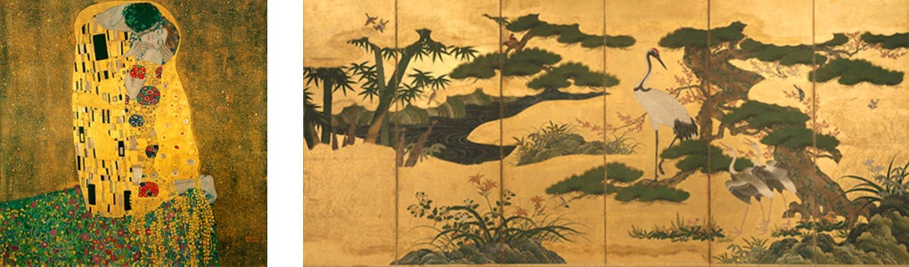 Klimt. Japanese Screen