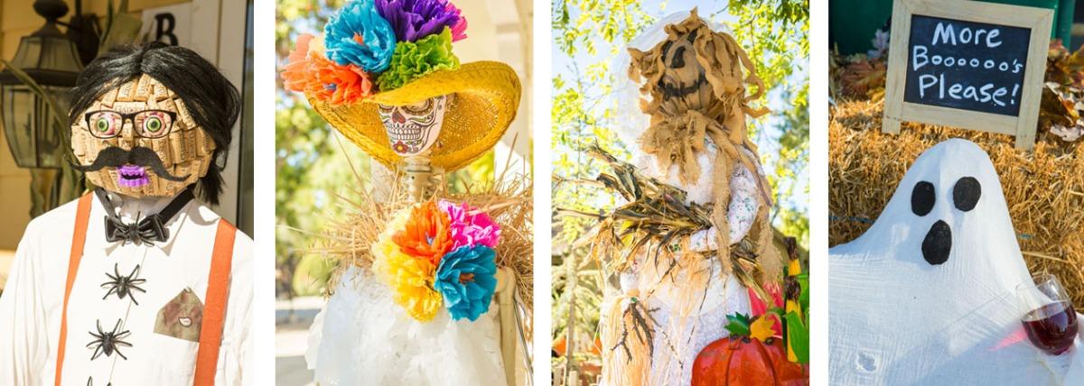 Santa Ynez Valley Halloween scarecrows
