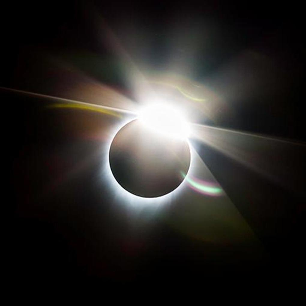 "©Bobbie Bratz ""Eclipse"" Photograph on acrylic."