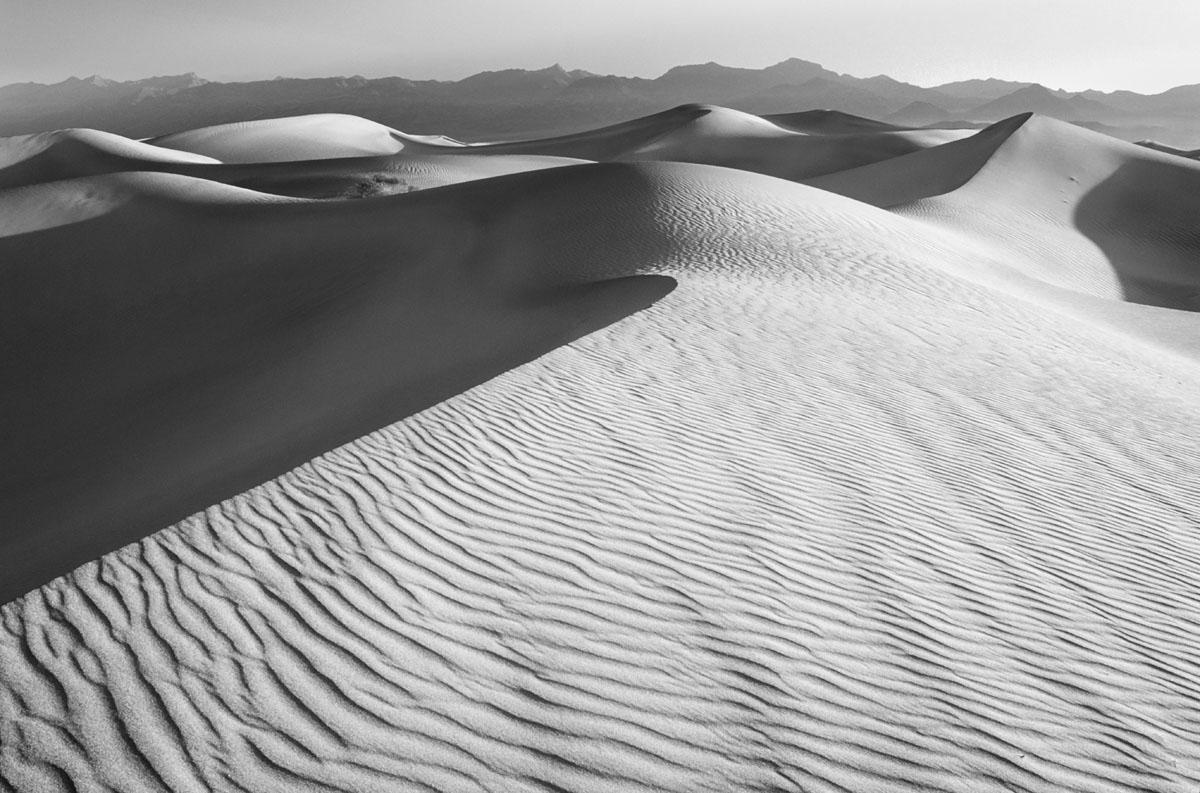 Sand dunes, Death Valley